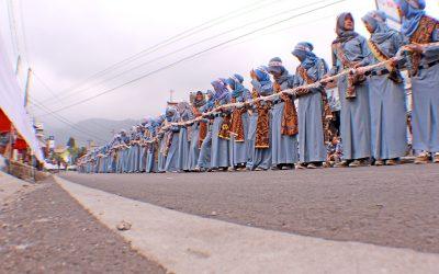 Ada 1 kilometer ondol membentang di Festival Kuduran Budaya