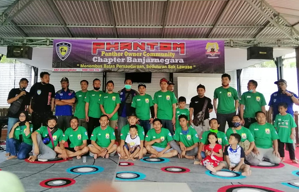 PHANTOM (Panther Owner Community) Chapter Banjarnegara